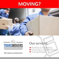 Transmovers - Moving services Milton