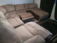 Plush Baige Sectional Couch Phoenix, 85022