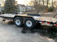 20' Heavy Duty Float Trailer landscaper trailer Kleinburg, L0J 1C0