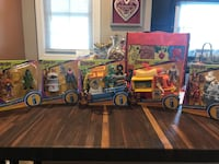 Set of 5 Scooby-Doo imaginext  Middlesex, 08846