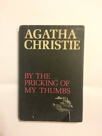 """1968 Agatha Christie, ''By The Pricking Of My Thumbs"""" 1st Edition Wilmington"""