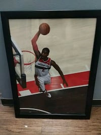 John Wall Framed Poster Washington, 20017