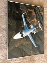 Framed Learjet 31 Photograph Purcellville, 20132