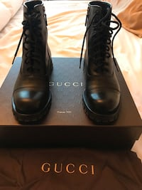 Gucci Boots Authentic SZ 8 smoke/pet free home  Toronto, M9B 6L9