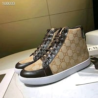 Gucci brown classic sneakers shoes  Toronto, M5T 1Z8