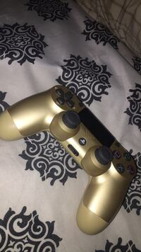 gold and black Sony PS4 DualShock 4 Albuquerque, 87112