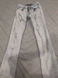 Tillys RSQ Super Skinny Jeans Size 16 Youth Boys Distressed Jeans Fontana, 92336