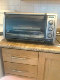 Toaster and convection oven