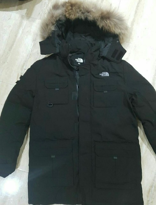 Parka The north face 3/4 negro