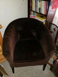 Velour Chair Good Condition  Victoria
