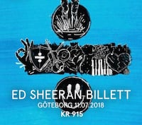 Ed Sheeran billett Tertnes, 5114