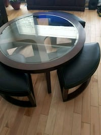 Round Cofee Table with four seats. Toronto, M3L 1K9