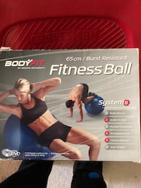 BodyFit Fitness Ball with pump & DVD Waldorf, 20603