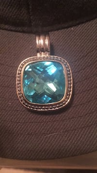 silver and blue gemstone ring Roanoke, 24012