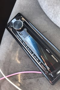 Car stereo front