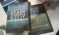 Dvd set of 6 ,change your brain change your body 116 km