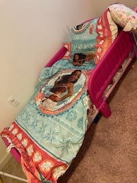 Toddler bed and covers