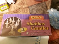 I  have shabbos candles never been open 72 candles Frederick, 21702