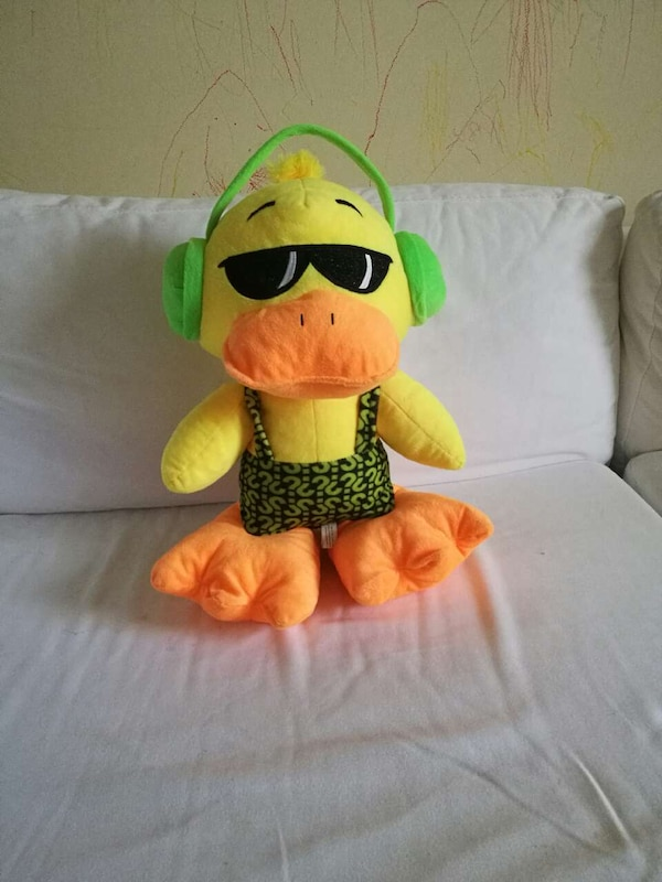 86d1faf07a1 duck wearing headphones and sunglasses plush toy. HomeUsed Baby and Child  ...