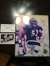 Ray Lewis Autograph Middle River, 21220