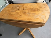 Real oak table made in USA Vancouver, V5N