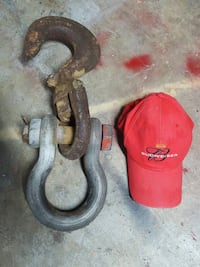 15 ton Shackle and hook  Port St. Lucie, 34983
