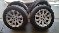 "5x114.3 5x4.5 235 60r18 18"" rims wheels tires Las Vegas"