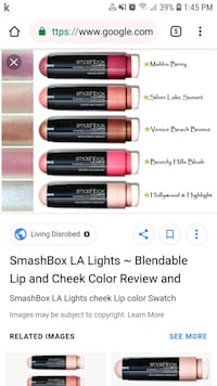 SMASHBOX Lip & Cheek Colour Markham