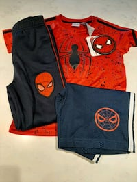 3 piece Spiderman Outfit/Brand New with tags on! Coquitlam