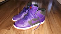 purple-and-white Nike high-top sneakers Sherwood Park, T8A 0V8