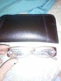 New reading glasses with case