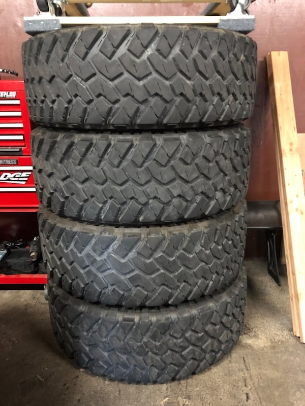 Used but in great condition. NITTO TRAIL GRAPPLER OFF ROAD TIRES e5ce6196-afbf-48a6-9874-b914614c53ea