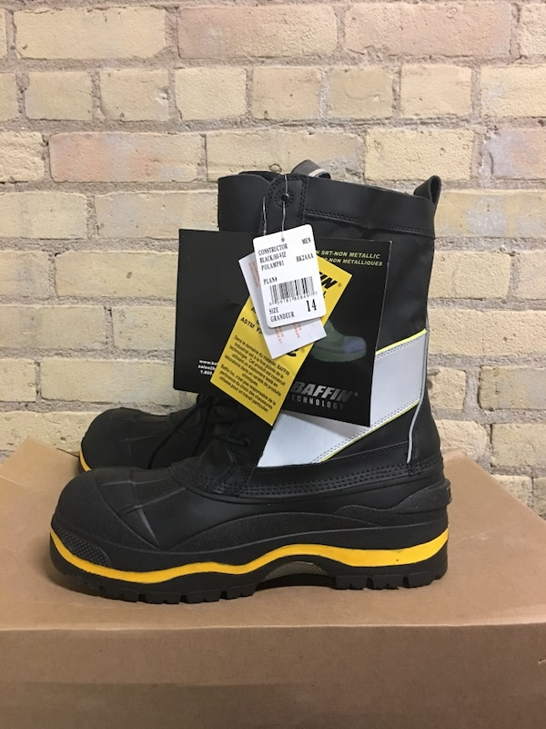 """NEW Baffin """"constructor"""" winter boots. Fits men's size 12"""