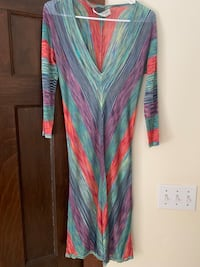 women's green and pink long sleeve dress Arlington, 22207