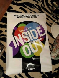 Inside out movie theater poster Catonsville, 21228