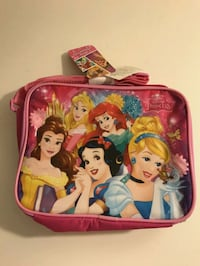 New Disney Princesses insulated lunch bag