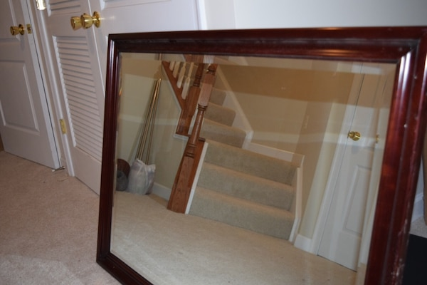 Large All Wood Mirror 24607451-67bb-49a4-97ec-3a85193aa089