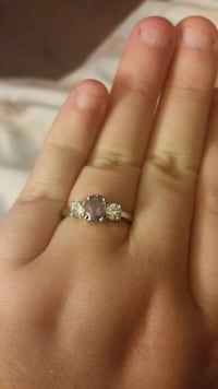 Purple 925 Stealing Silver ring  Indianapolis