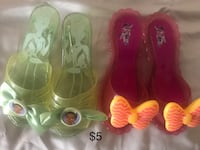 Two pink and green girl dress up shoes Martinsburg, 25403