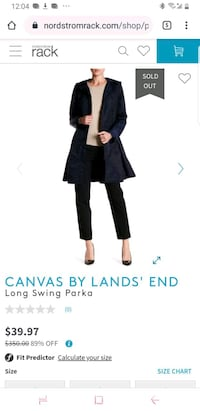 Land's End Rain Coat Anchorage, 99508