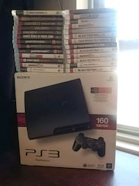 brand -new sony ps3 for sale w/28-games