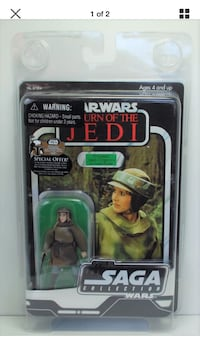 STAR WARS SAGA COMBAT PONCHO PRINCESS LEIA ACTION FIGURE  Coquitlam