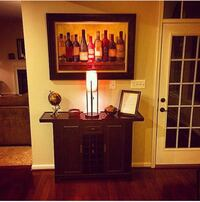 Wine cabinet. Adjustable with cabinets  Virginia Beach, 23455