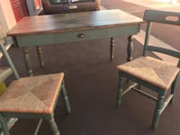Rustic 3 piece dinning table