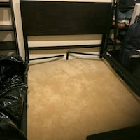 Queen Size Bed Frame with matching table and shelve Mattress Box Sprin Oxon Hill