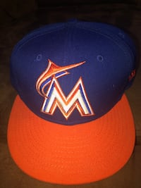 Miami Marlins Fitted 7 1/2