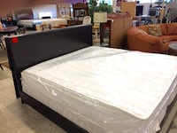 *NEW* King Espresso Bed & Mattress Set **(SPECIAL)**  Charlotte, 28216