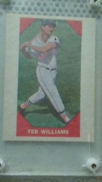 mlb ted williams trading card Grandview, 64030