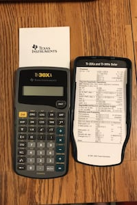 Texas Instruments TI-30XA calculator with instruction book Midwest City, 73110