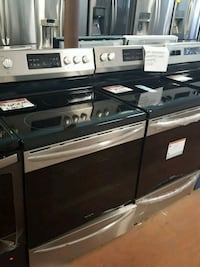 Frigidaire stainless electric new stoves Reisterstown, 21136